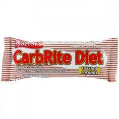 Ανεξάρτητα από το ποια χαμηλή σε υδατάνθρακες μπάρα έχετε χρησιμοποιήσει στο παρελθόν, ήρθε η ώρα για αλλαγή. Μία νόστιμη, πεντανόστιμη αλλαγή. Toasted Coconut, Protein Bars, Diet, Food, Per Diem, Meal, Eten, Get Skinny, Meals