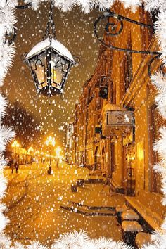 LET IT SNOW. This image is a GIF. If you click on the picture it will snow. How cool is that? I think it's pretty neat.