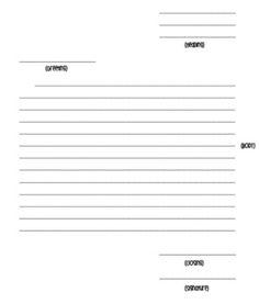 Friendly Letter Template Free - Ella Reinke - TeachersPayTeachers.com