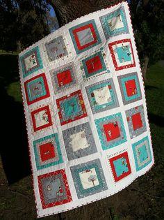 Love the colors Apple Photo, Cot Quilt, Panel Quilts, Quilt Designs, Lofts, Crotchet, Baby Quilts, Cabins, Apples