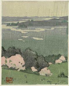 Arthur Wesley Dow/ rain in may