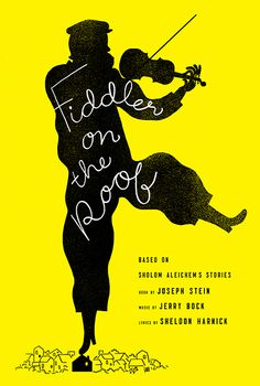 """Jacket design, illustration: Chris Silas Neal. This edition of """"Fiddler on the Roof"""" coincides with the fiftieth anniversary of the Broadway premiere. (Crown, September 2014.)"""