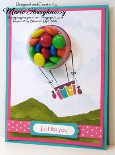 Up and Away Sweet Centers by Card Shark - Cards and Paper Crafts at Splitcoaststampers