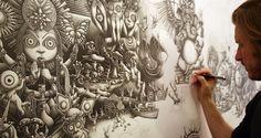 Unbelievable Five Meter Pop Art of Joe Fenton