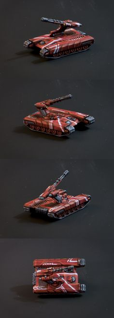The UCM forgoe camo for bright red and sharp lines, by ArcticLancer.