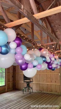 Hen Party Decorations, Wedding Balloon Decorations, Bachelorette Decorations, Wedding Balloons, Purple Balloons, Long Balloons, Latex Balloons, Gender Reveal Balloons, Baby Shower Gender Reveal