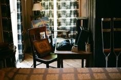 Flannery O'Connor's desk at Andalusia in Milledgeville, GA