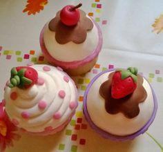 Scatole tipo cupcake in pasta di mais