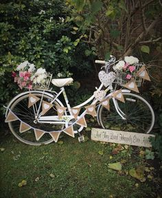 Hire Our Charming Vintage Bike For Your Wedding Or Event And