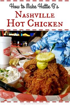 Hattie B's Nashville Hot Chicken Recipe, Hattie B's Hot Chicken Recipe, Tennessee Hot Chicken Recipe, Nashville Hot Chicken Sandwich Recipe, Kfc Nashville Hot Sauce Recipe, Hattie B's Recipe, Fried Chicken Recipes, Spicy Fried Chicken, Healthy Recipes