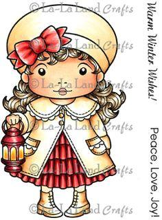Christmas Lantern Marci Digi Stamp