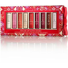 Fresh Limited Edition Sugar Lip Love Story Set ($103 Value) - 2.2 g... ($73) ❤ liked on Polyvore featuring beauty products and gift sets & kits