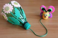 Jonah and the Whale Craft Teaches a Lesson on Obedience Kids Crafts, Summer Crafts, Easy Crafts, Diy And Crafts, Plastic Bottle Crafts, Plastic Bottles, Operation Christmas Child, Cool Art Projects, Recycled Crafts