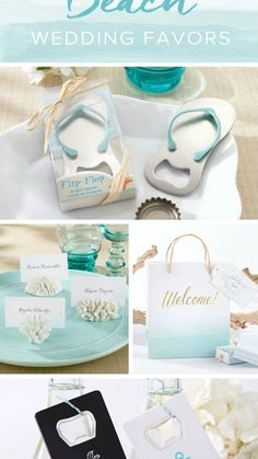 Your guests will never forget your special day with these great beach and nautical-themed wedding favors. #http://timelesstreasure.theaspenshops.com/category/Beach-Favors.html