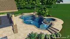 3D Pool Designs   Online Pool Designs   Free Swimming Pool Plans ...
