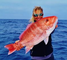Old Salt Photo of the Week - American Red Snapper: Courtney Kuhn by Mark Szulga