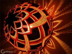 Exotic Gourd Lamps by Calabarte   Bored Panda