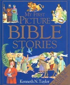 My First Picture Bible Stories by Kenneth N. Taylor,http://www.amazon.com/dp/0879731087/ref=cm_sw_r_pi_dp_S-qRsb0AEMFNTHVH