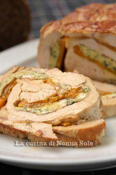 La cucina di Nonna Sole: Arrosto di tacchino con peperoni