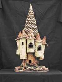 How To Make A Paper Mache Medieval Castle – Origami 2020 Paper Clay Art, Paper Artwork, Paper Crafts, Clay Fairy House, Fairy Houses, Castle Project, Biscuit, Making Paper Mache, Reflection Art