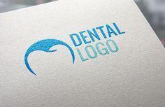 use of negative space Dentist Logo, Dentist Clinic, Modern Logo Design, Graphic Design Typography, Branding Design, Teeth Logo, Dental Center, Dental Office Design, Typo Logo
