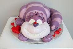 3D Torte, Alice im Wunderland, die Katze — Barbara Aletter - Patisserie - Hochzeitstorten und Motivtorten in Bad Nauheim