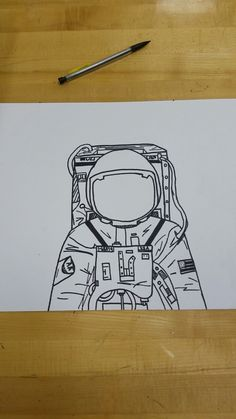 Have students create an astronaut travel journal. As they learn about each planet, they make an entry detailing their findings from their visit. I wish i can draw like that👆👆 (Г~Г) Sharpie Drawings, Sharpie Art, Sharpie Doodles, Zentangle Drawings, Space Drawings, Cool Drawings, Flower Drawings, Astronaut Drawing, Travel Drawing