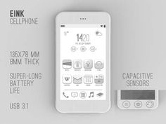 Because the E Ink technology is a fast growing part of display tech, i will present a new smartphone concept with an E Ink display. This cell phone first advantage should be the price, because it must be cheaper than … Continue reading → E Paper Display, E Ink Display, Flexible Display, Smart Home Control, Apps, Arduino Projects, Home Technology, Yanko Design, Smart Technologies