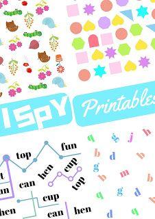 The Practical Mom: I Spy Printables! (Practical Mondays #15)