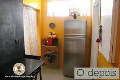 A cozinha amarela de Débora (Antes e depois)