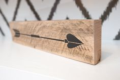 New to LoveBuiltShop on Etsy: Reclaimed Wood Arrow Sign Decor | Valentine Day Gift | Boho Chic Decor | Girls Bedroom Decor | Rustic Wood Home Decor | Arrow Style 7 (15.00 USD)
