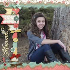 """Created with """"Without You"""" by Scrap Girls. Part of the February 2014 Scrap Pack."""