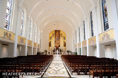 loyola chapel, madonna della strada in chicago ..... This is where I am getting married!