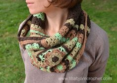 Autumn Winds Cowl. Free crochet pattern by Lilla Bjorn Crochet