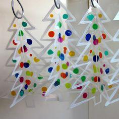 Josara Design: 3D Suncatcher Christmas Trees
