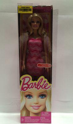 (TAS013024) - Barbie 2014 Target Exclusive - Pink Dress - NIB
