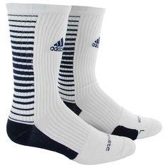 adidas Team Speed Vertical Crew Socks Medium 1 PR, White/Navy Fashion Socks, Mens Fashion, Adidas Socks, Sock Crafts, Cozy Socks, Winter Socks, Sport Socks, Sock Shoes, Men Casual