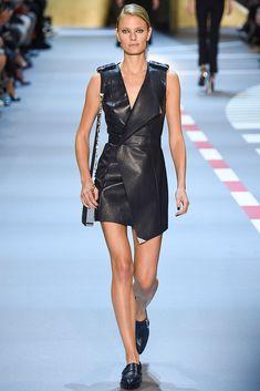 Constance Jablonsky for Mugler - Spring/Summer 2016 - Paris Fashion Week.