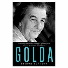 """This captivating biography paints a vivid portrait of Golda Meir, the Western world's first female head of state and one of modern history's most influential figures.  Product: Book   Features: 512 Pages Written by Elinor Burkett    Dimensions: 8"""" H x 5.31"""" W"""