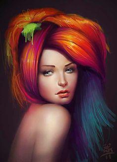 Hella hair