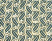 Windham Fabrics Colonies #20549 Green/Gold, 1 yard, C141G.