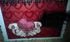 Happy Crafter Shell: Bloody Valentine blog hop
