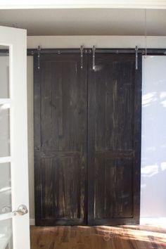 DIY Barn Door!  j...