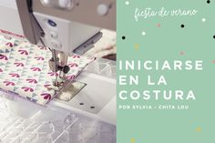 Claves de costura para principiantes. ¡Todo el mundo puede! Costura Diy, Sewing, Fabric, Cristina, Singer, Cross Stitch, Sewing Projects For Beginners, Sewing Tips, Sewing Tutorials