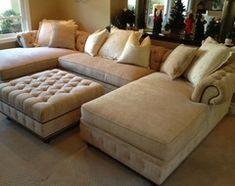 KENZIE STYLE ( aka NELLIE) - Chesterfield Sofa or Sectional traditional-family-room