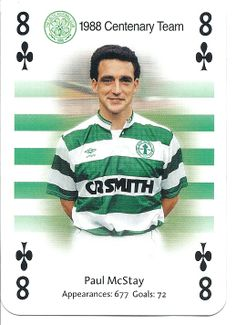 Celtic playing cards Steven Page, Team 8, Association Football, Celtic Fc, Glasgow, Playing Cards, Badges, Goals, Baseball Cards