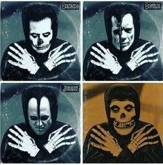 Arte Punk, Punk Art, Punk Rock Bedroom, Beatles, Misfits Band, Danzig Misfits, Glenn Danzig, Goth Music, Vintage Horror