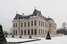 Chateau Louis XIV Winter