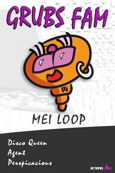 MEI LOOP the Agent - Camouflage: Disco Queen. Not bitten yet and professionel perspicacious. Camouflage, Comic Art, Character Design, Queen, Illustration, Pink, Military Camouflage, Show Queen, Illustrations
