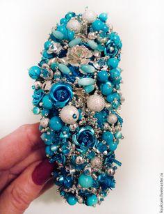 "обруч ""Stone garden"". Handmade."